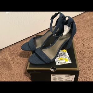 Worthington heeled sandals size 8M